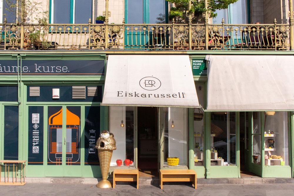 Salon Linke Wienzeile Fassade 2