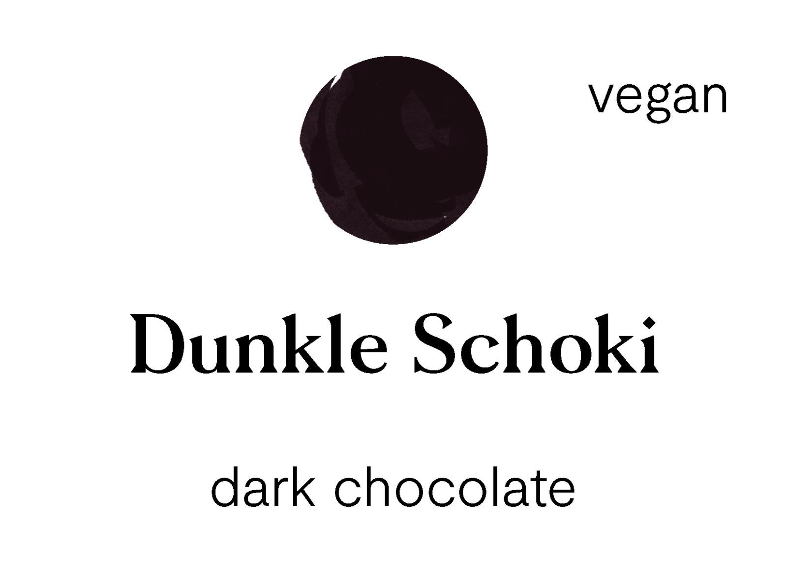 Dunkle Schoki