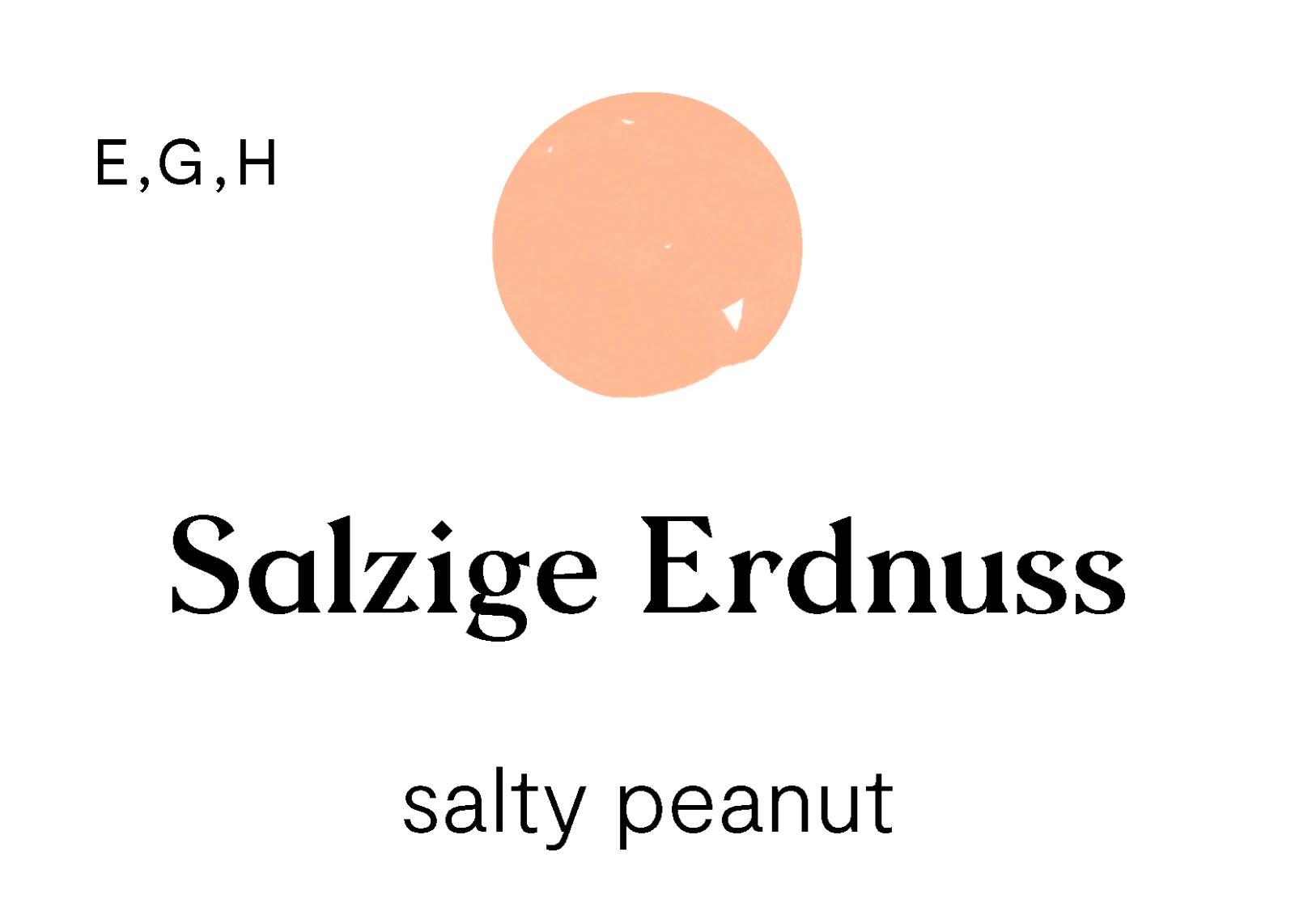 Salzige Erdnuss