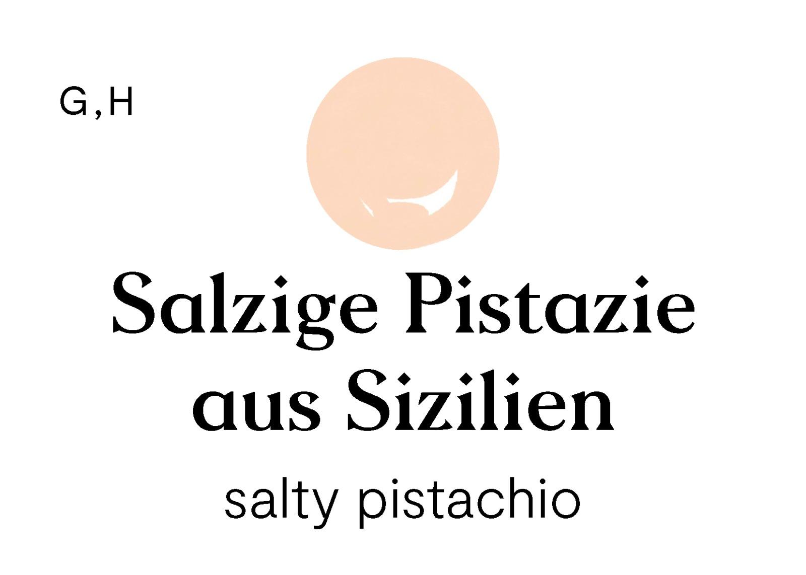 Salzige Pistazie