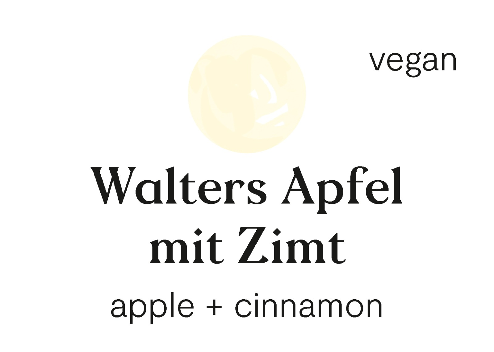 Walters Apfel mit Zimt